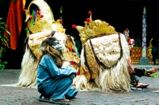 Barong and Rangda dance