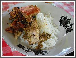 Babi gulung, popular dish in Bali