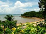 beautiful beach in Chantaburi Thailand