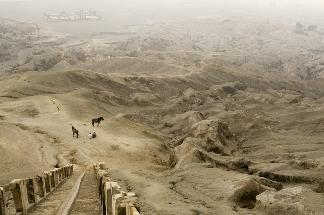 The sand sea of Tengger caldera