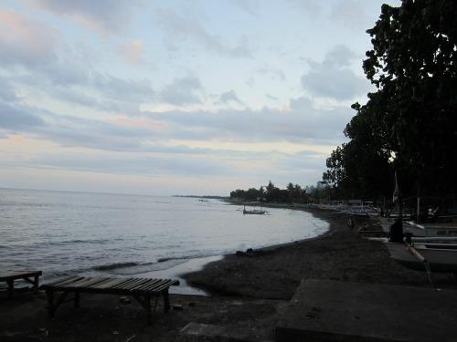 Lovina beach in the morning