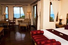 Ocean front suite room